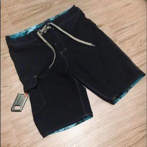 Burnside Board Shorts & wax comb